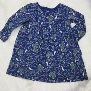 {Old Navy} Floral Bunny Dress